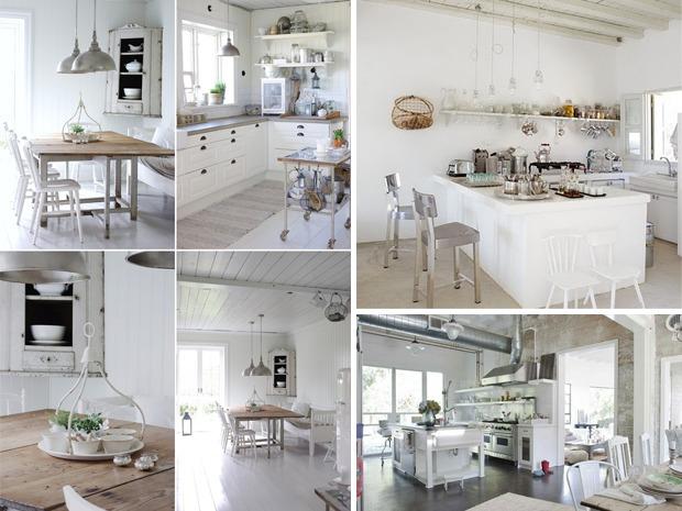 Cucine shabby chic legno bianco - Isola cucina fai da te ...