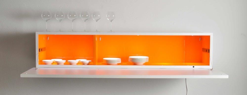 pensili cucina: legno, plastica, metallo