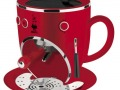 BIALETTI CF36R Macchina Caffe  Espresso Tazzonna Rossa Lucida_a