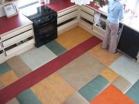 Pavimenti Cucina Gomma e Linoleum